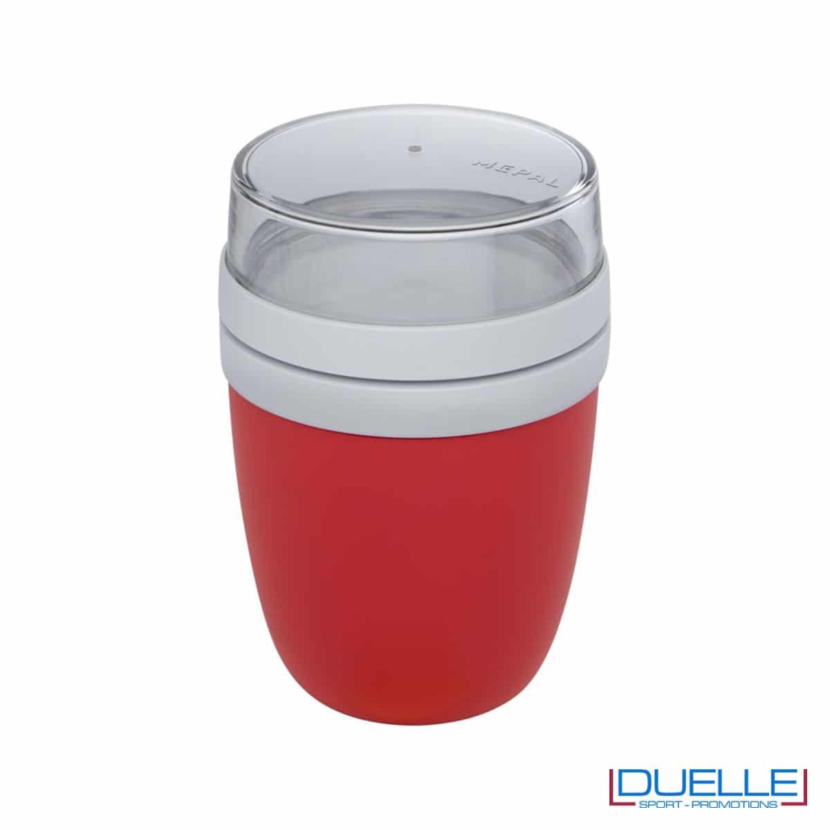 Lunch box Mepal colore rosso personalizzato con il tuo logo