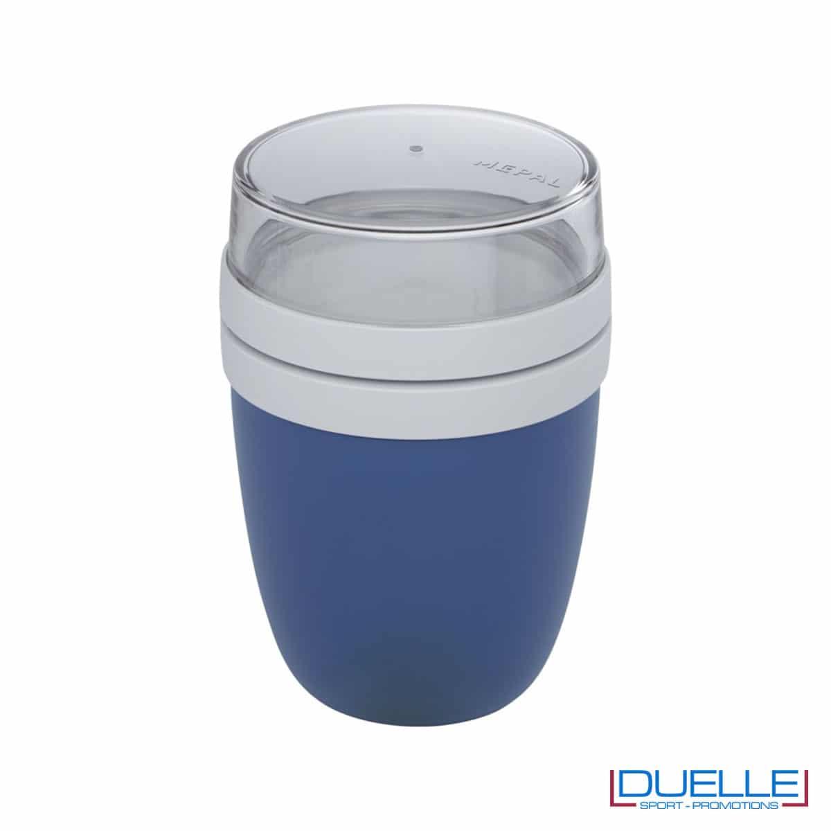 Lunch box Mepal colore blu personalizzato con il tuo logo