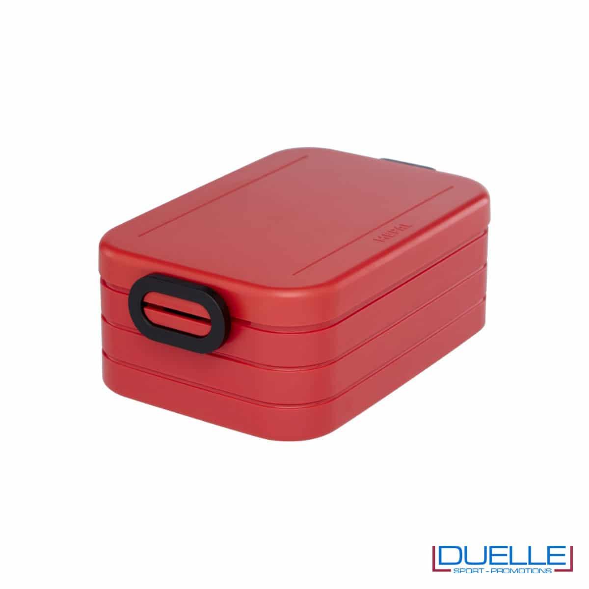 Contenitore porta pranzo Mepal colore rosso personalizzato