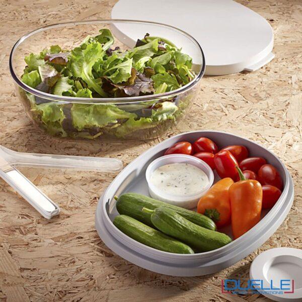 Porta insalata Mepal per la pausa in ufficio