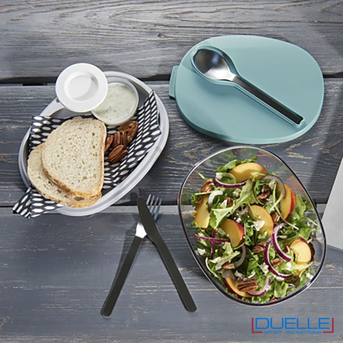Porta insalata personalizzabile con il tuo logo