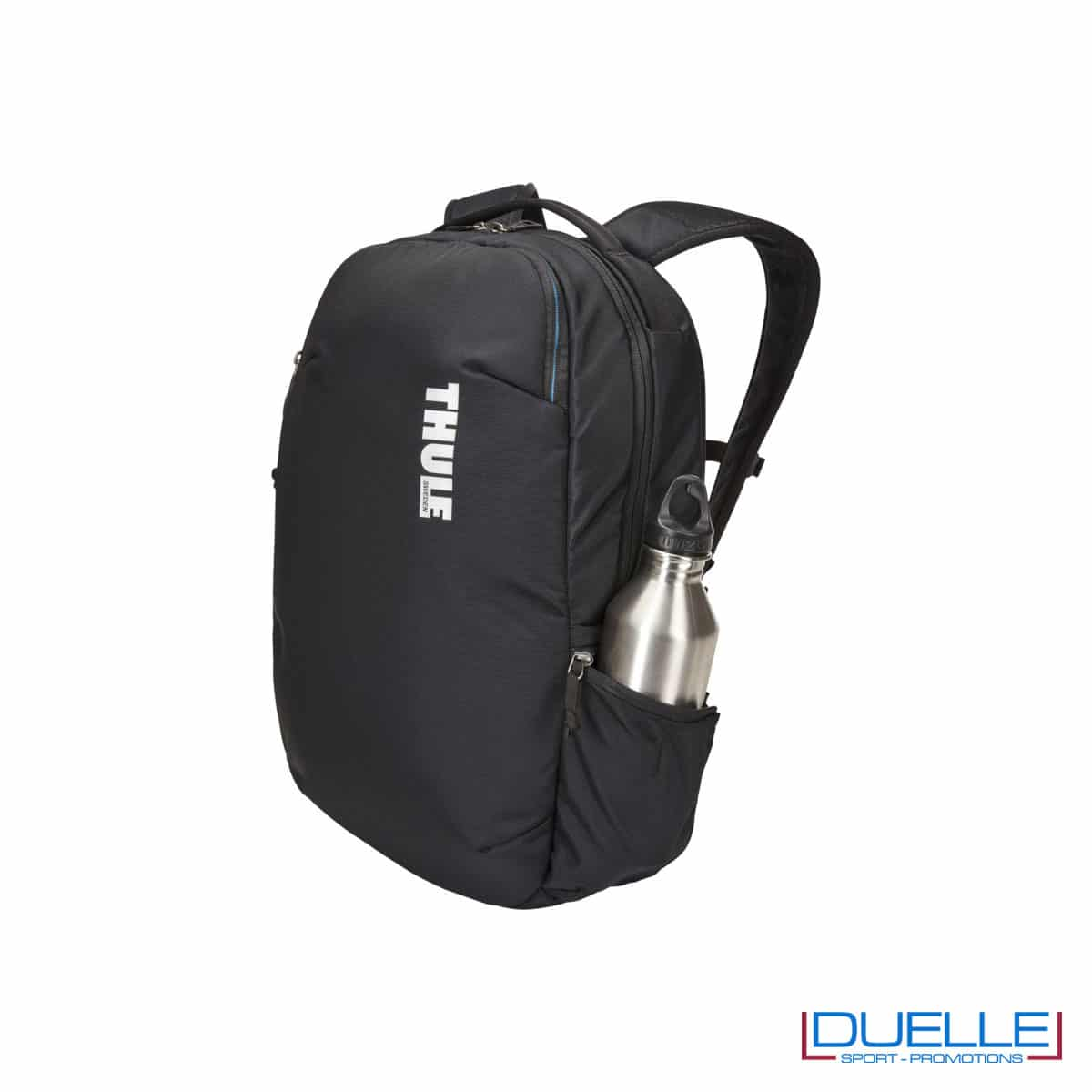 Tasca laterale per borraccia su zaino porta laptop Thule
