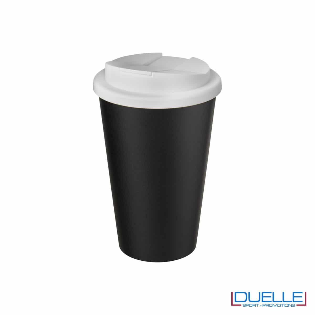 Tazza termica ecologica personalizzata tappo bianco