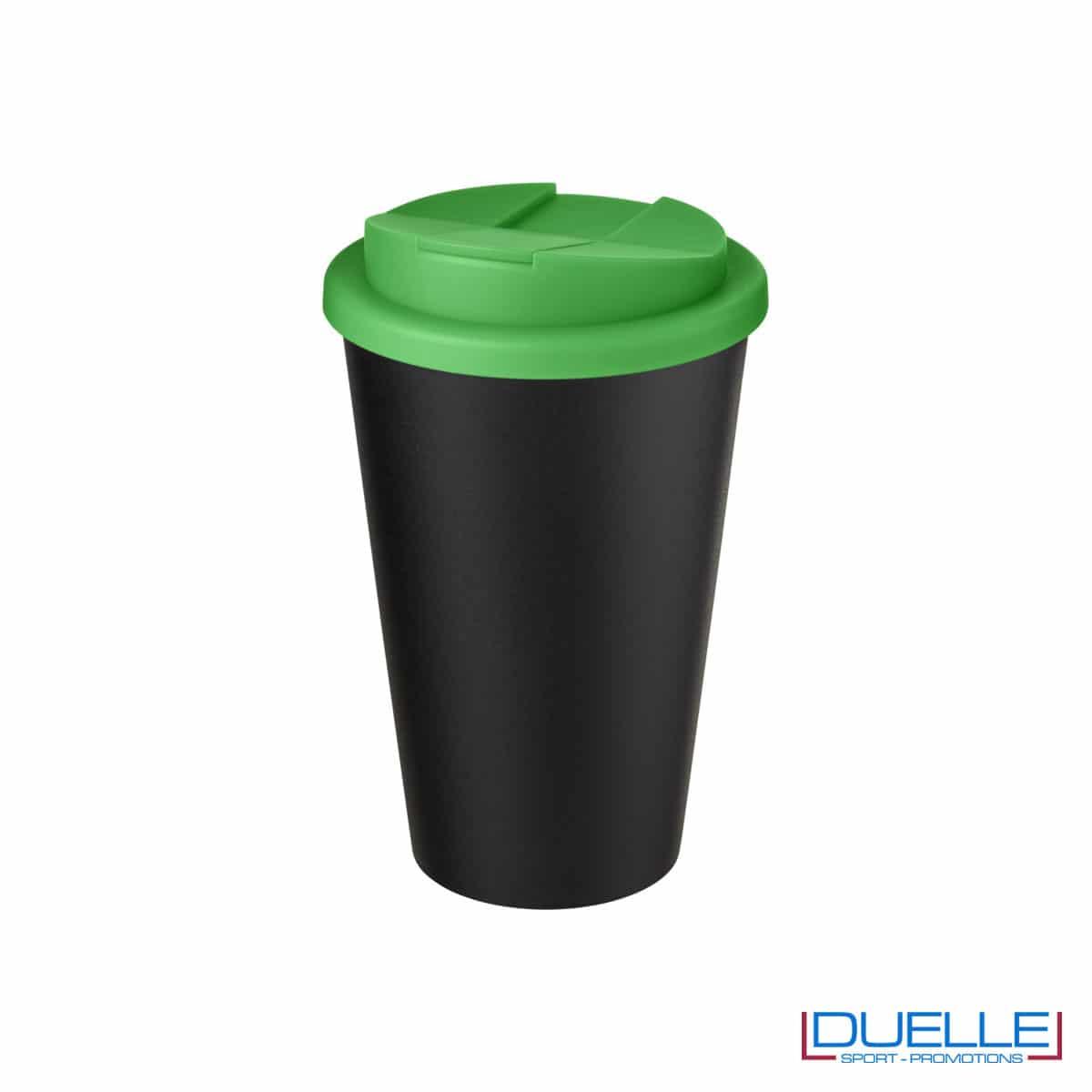 Tazza termica ecologica personalizzata tappo verde