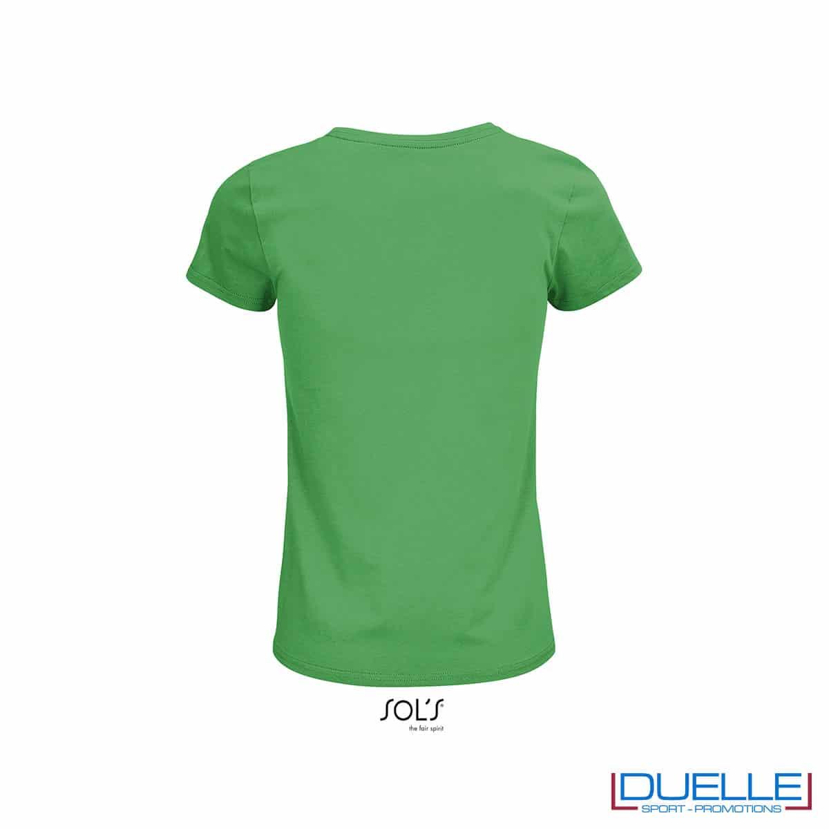 retro maglia verde girocollo donna