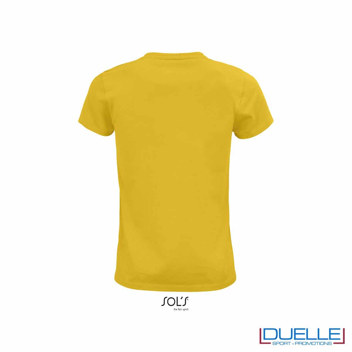retro maglia donna giallo cotone