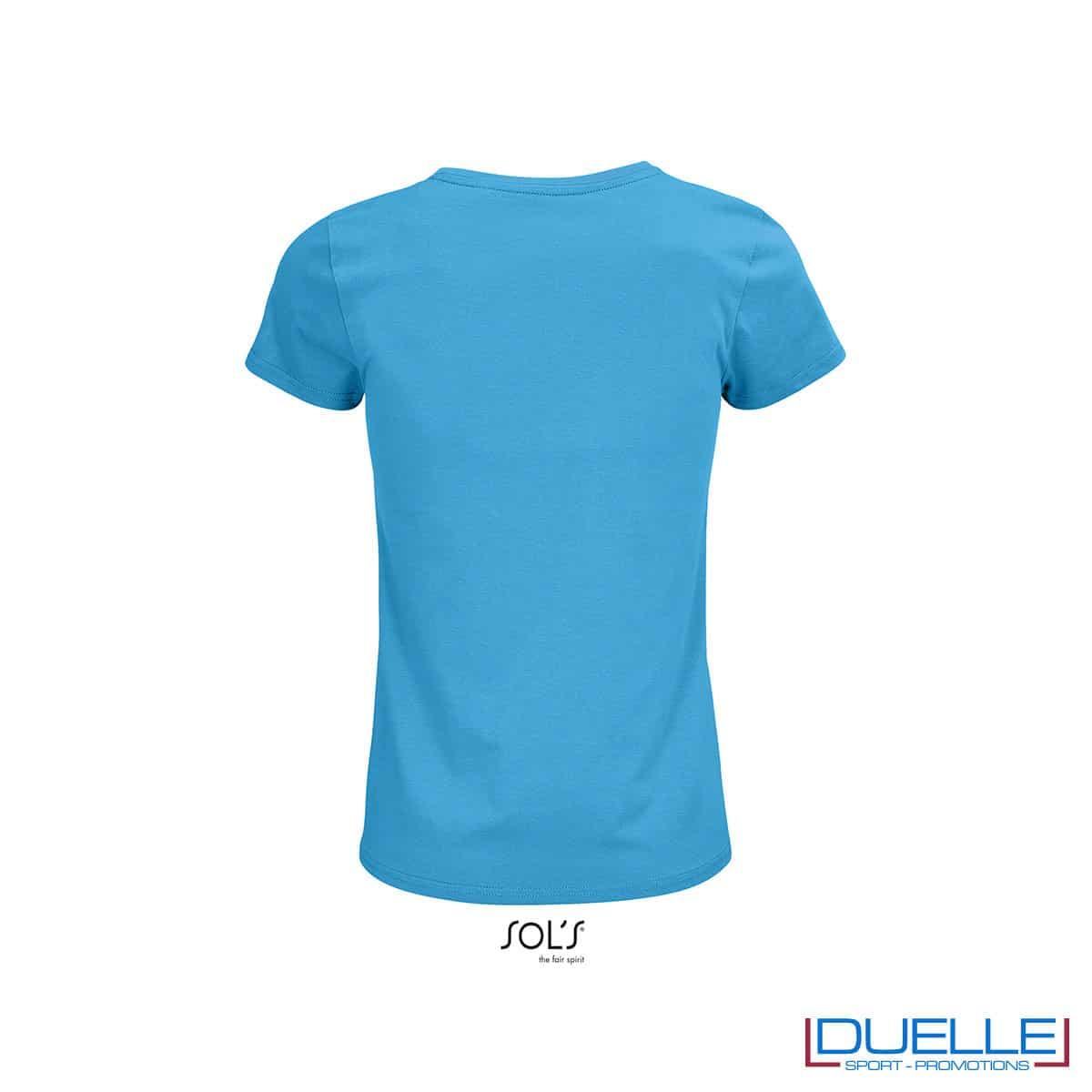 retro maglietta femminile acqua