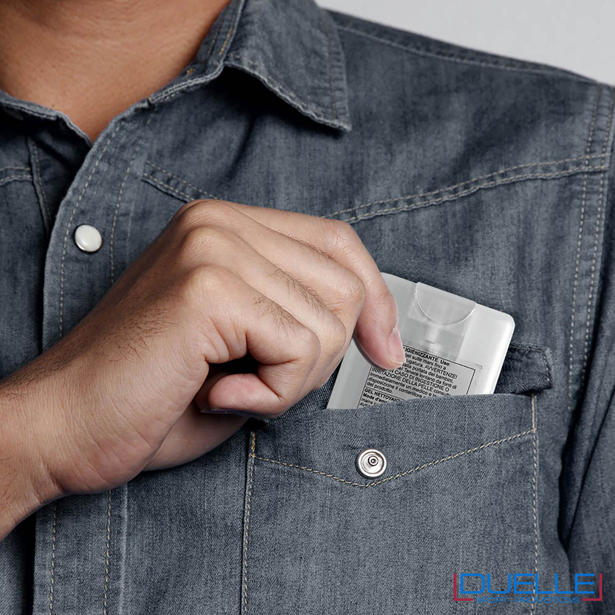 spray igienizzante mani tascabile