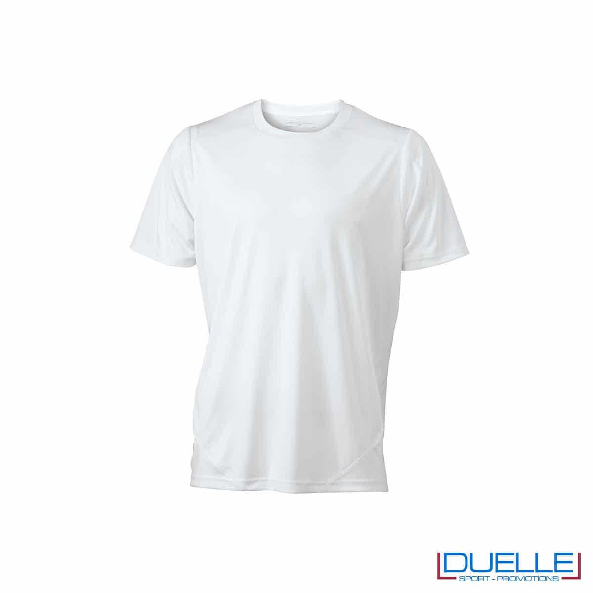 Maglia calcio colore bianco promozionale