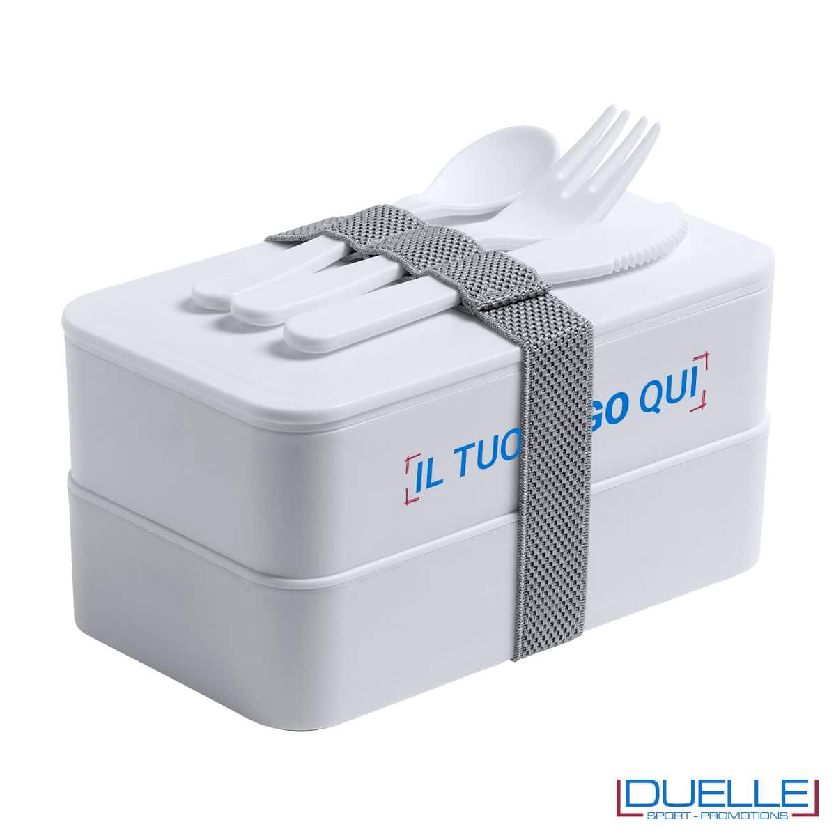 Contenitore porta pranzo antibatterico da personalizzare