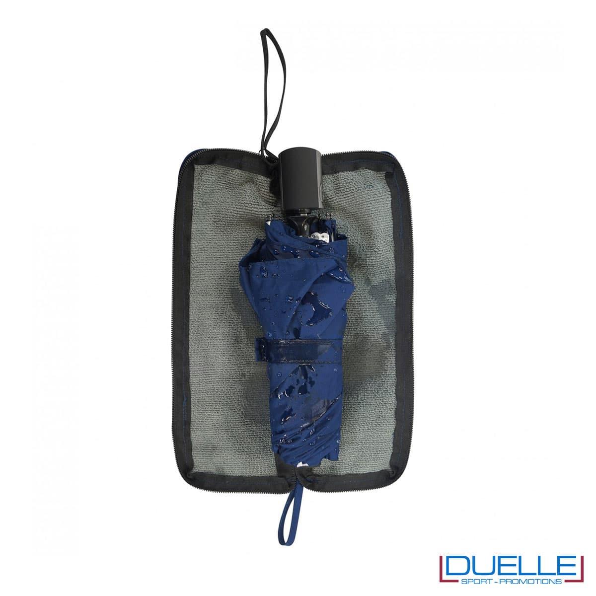 Custodia assorbente per ombrello mini in R-PET personalizzabile