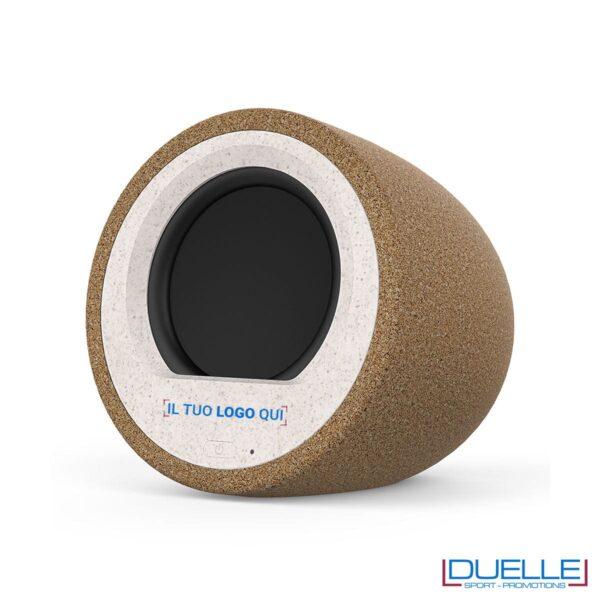 Speaker ecologico in sughero personalizzato