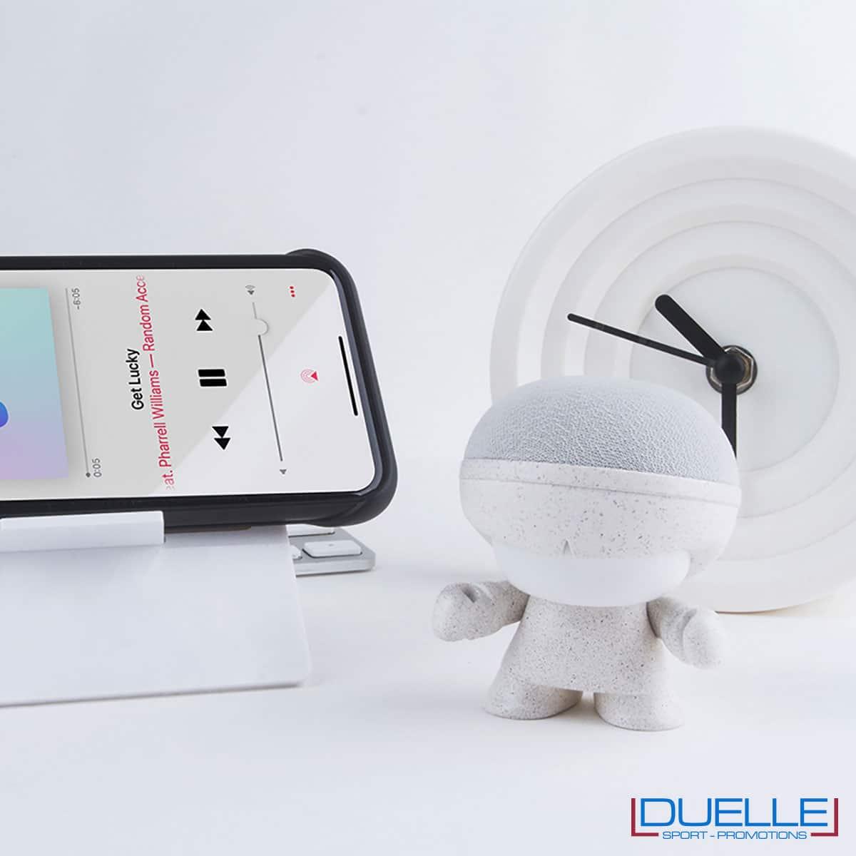 Speaker ecologico in fibra di grano e plastica bio personalizzato