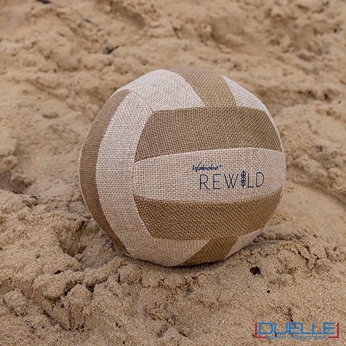 Palla da beach volley con logo ecosostenibile
