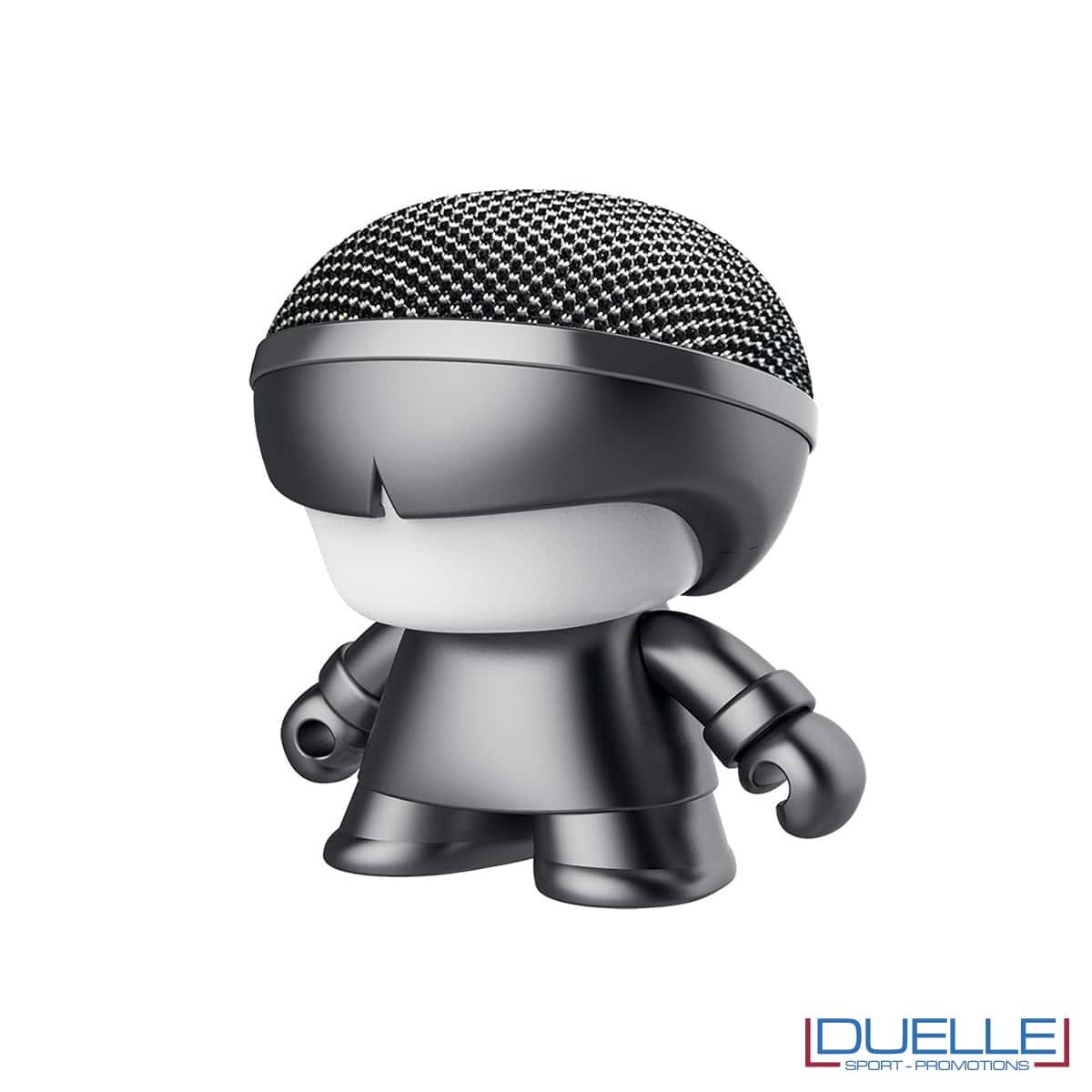 Altoparlante wireless mini personalizzato colore grigio