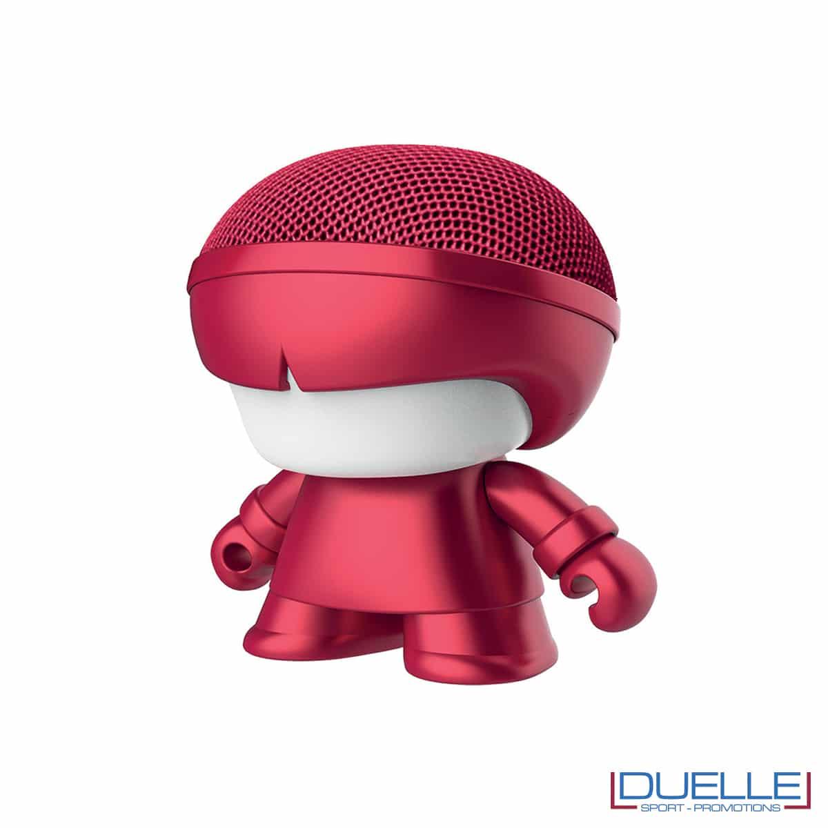 Speaker mini wireless rosso con logo
