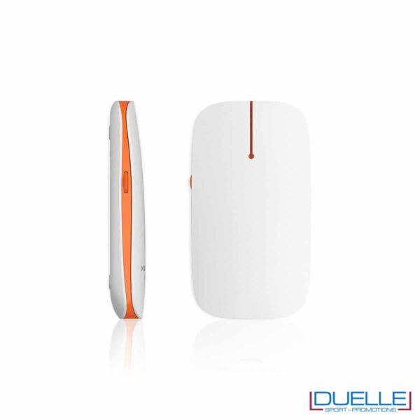 Mouse PC wireless con led arancio promozionale