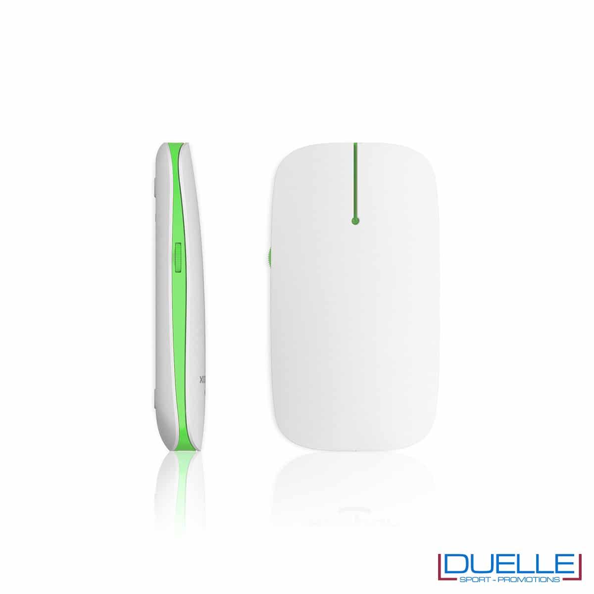 Puntatore mouse wireless led verde personalizzato