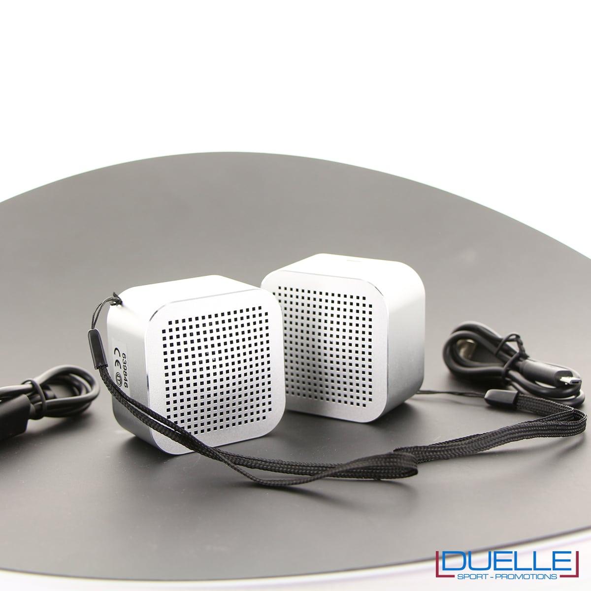 Speaker mini con logo inciso