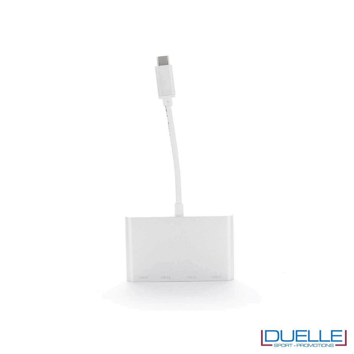 Adattatore USB argento personalizzato