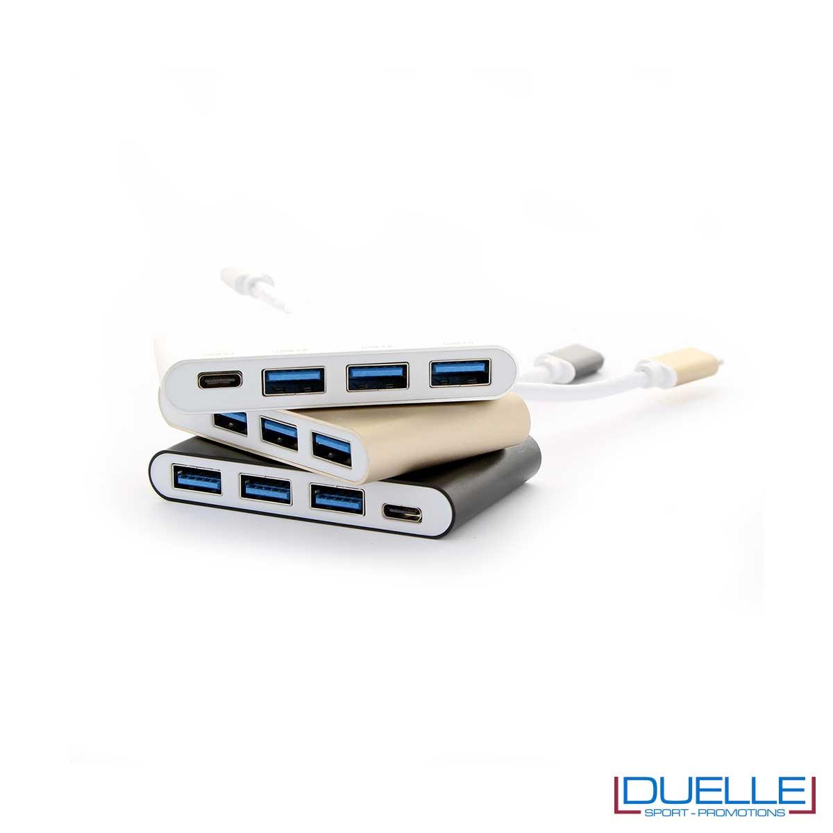 Hub USB-C computer promozionale