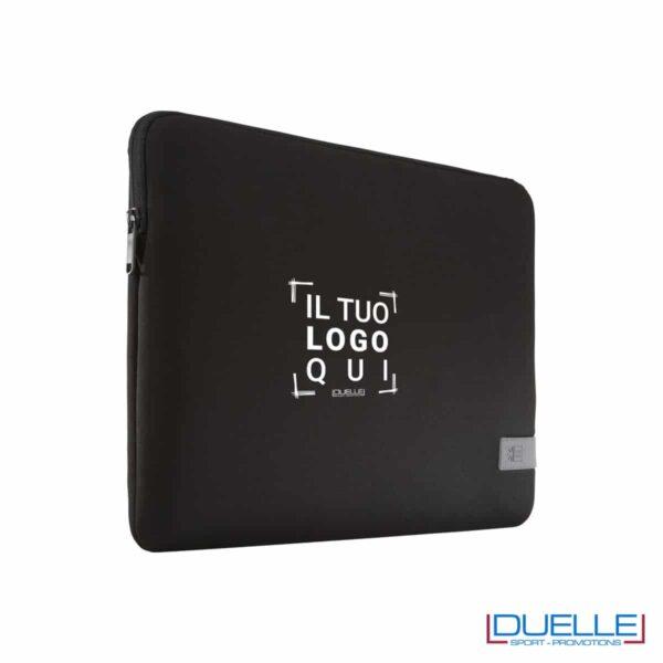 Custodia Case Logic porta laptop personalizzata con stampa