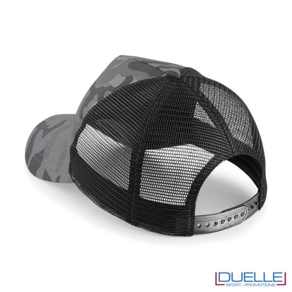 Cappello camo grigio promozionale