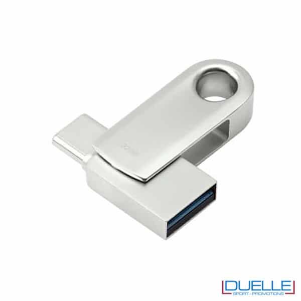 Chiavetta USB 3.0 aperta