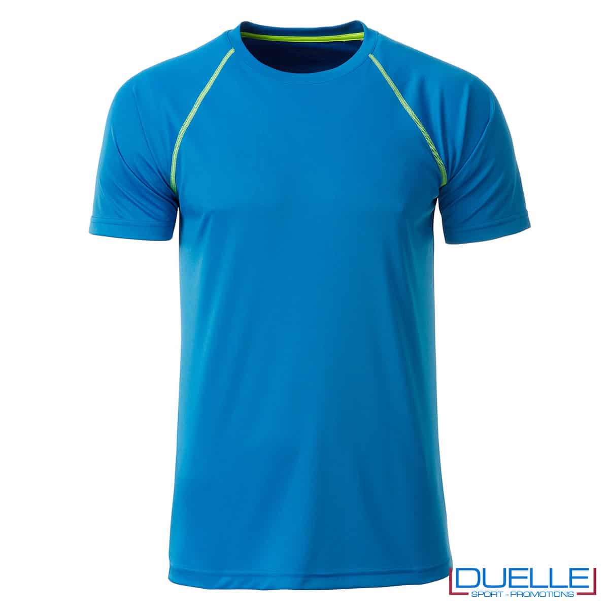 Maglia sportiva uomo azzurra