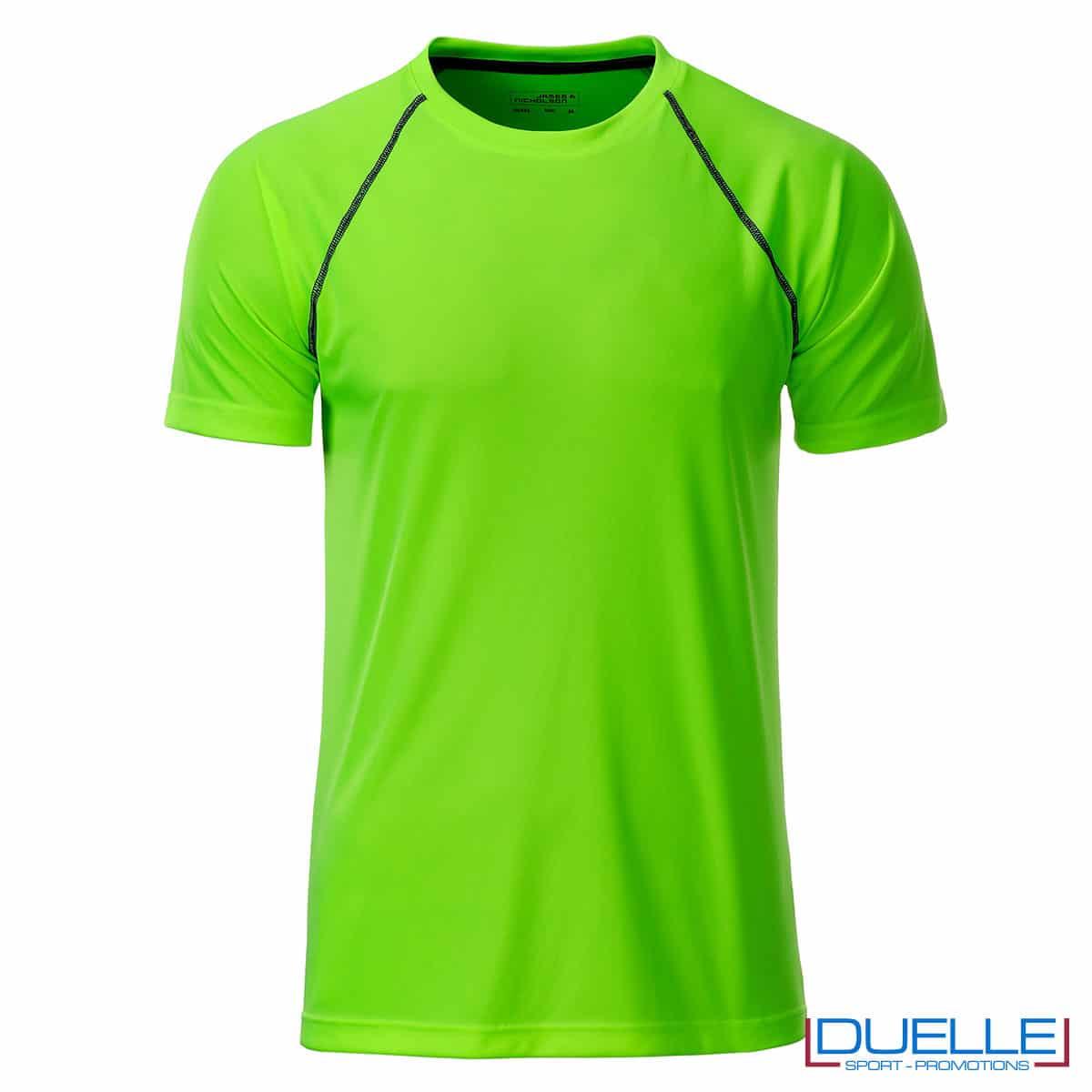 maglia traspirante uomo verde