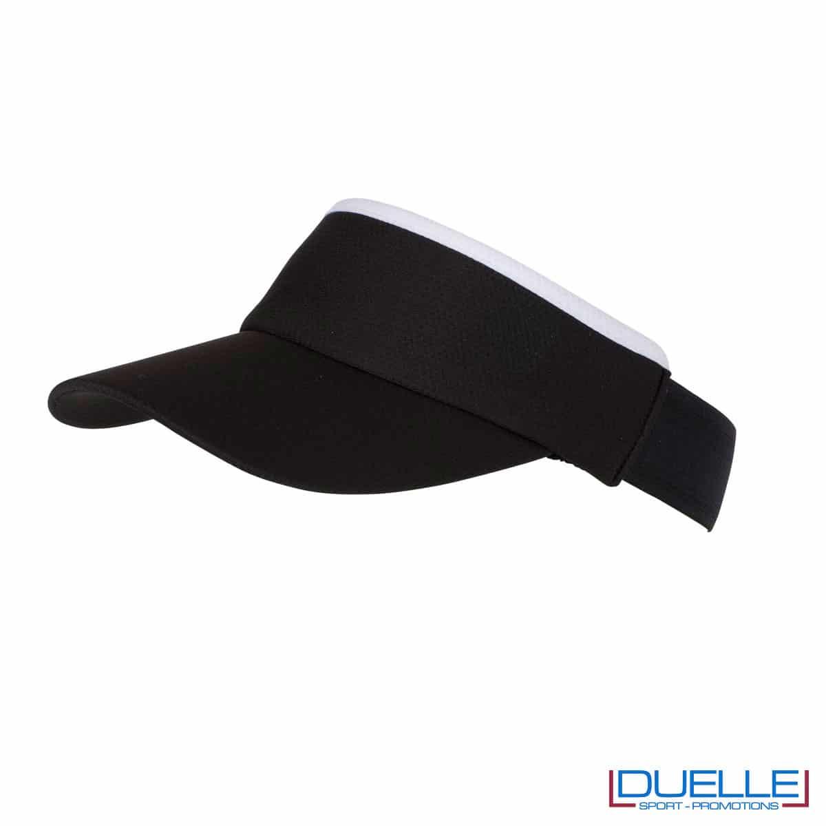 cappello visiera nero