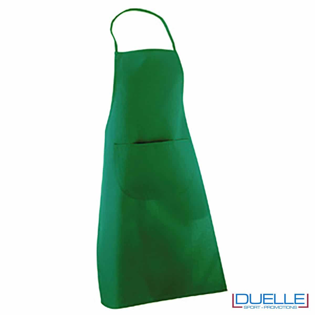 grembiule verde 190 gr/m2