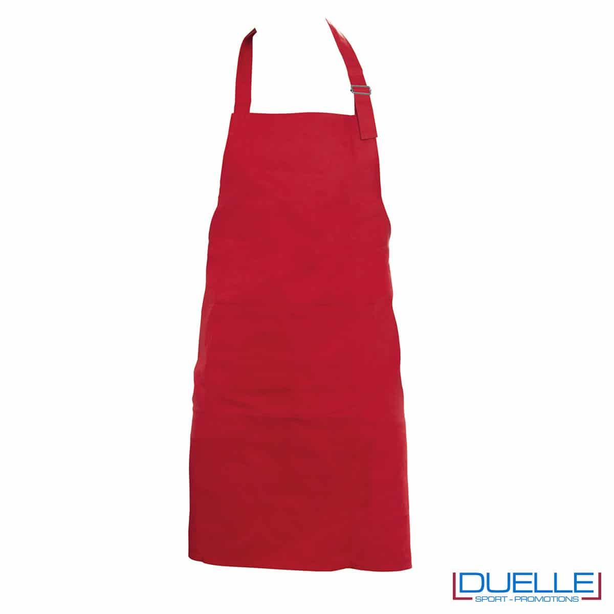 Grembiule da cucina 250g rosso