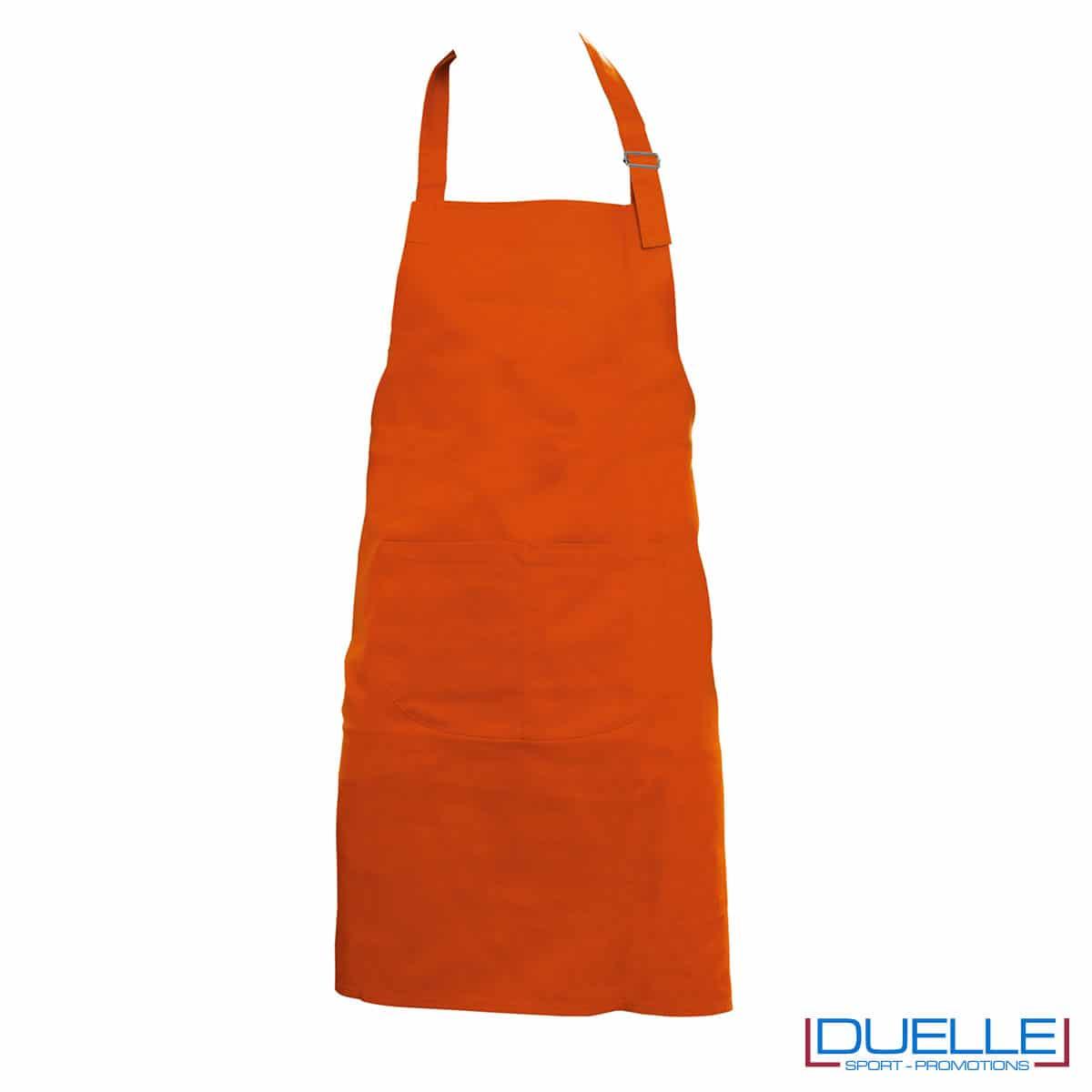 grembiule cotone 250g arancio