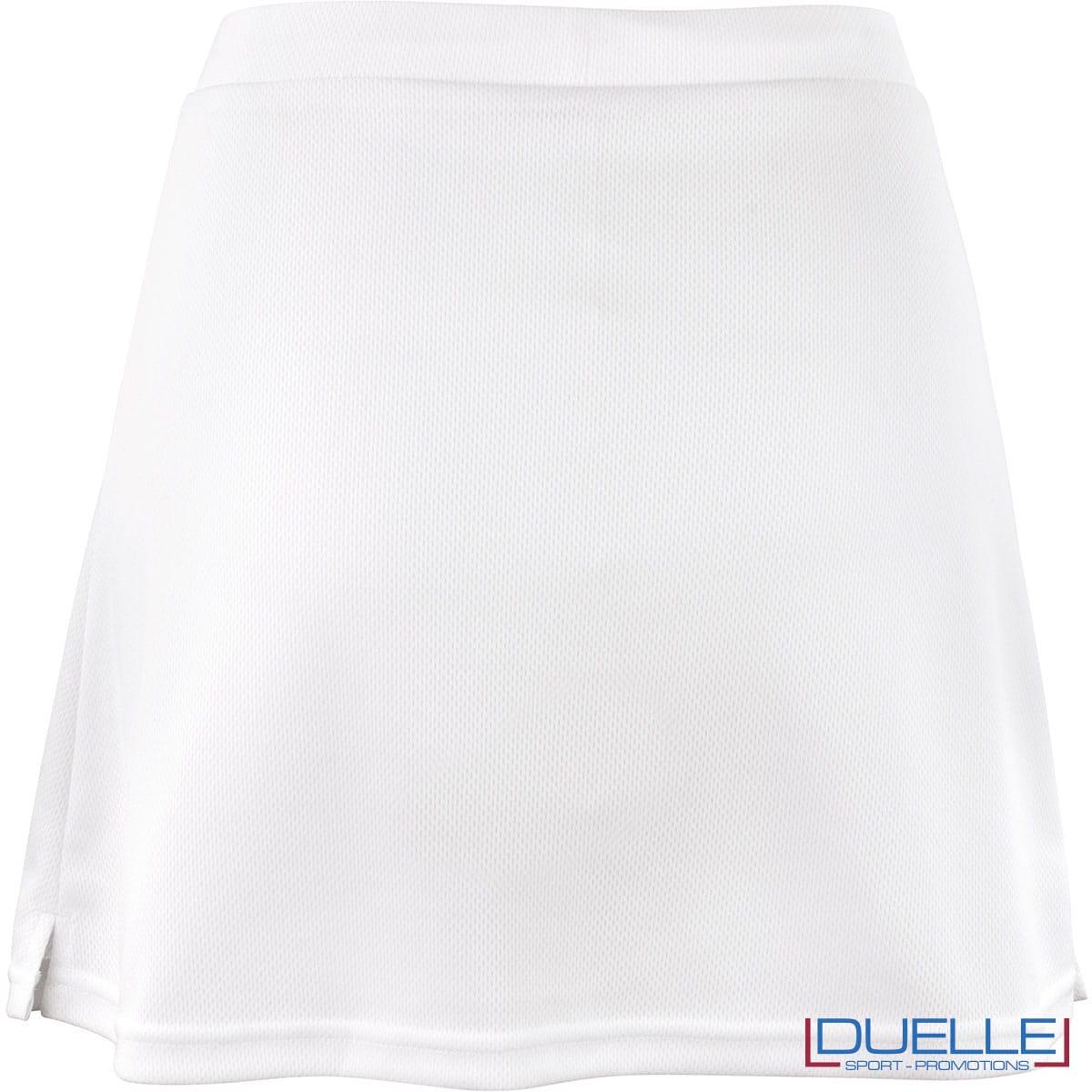 gonnellina bianca tennis