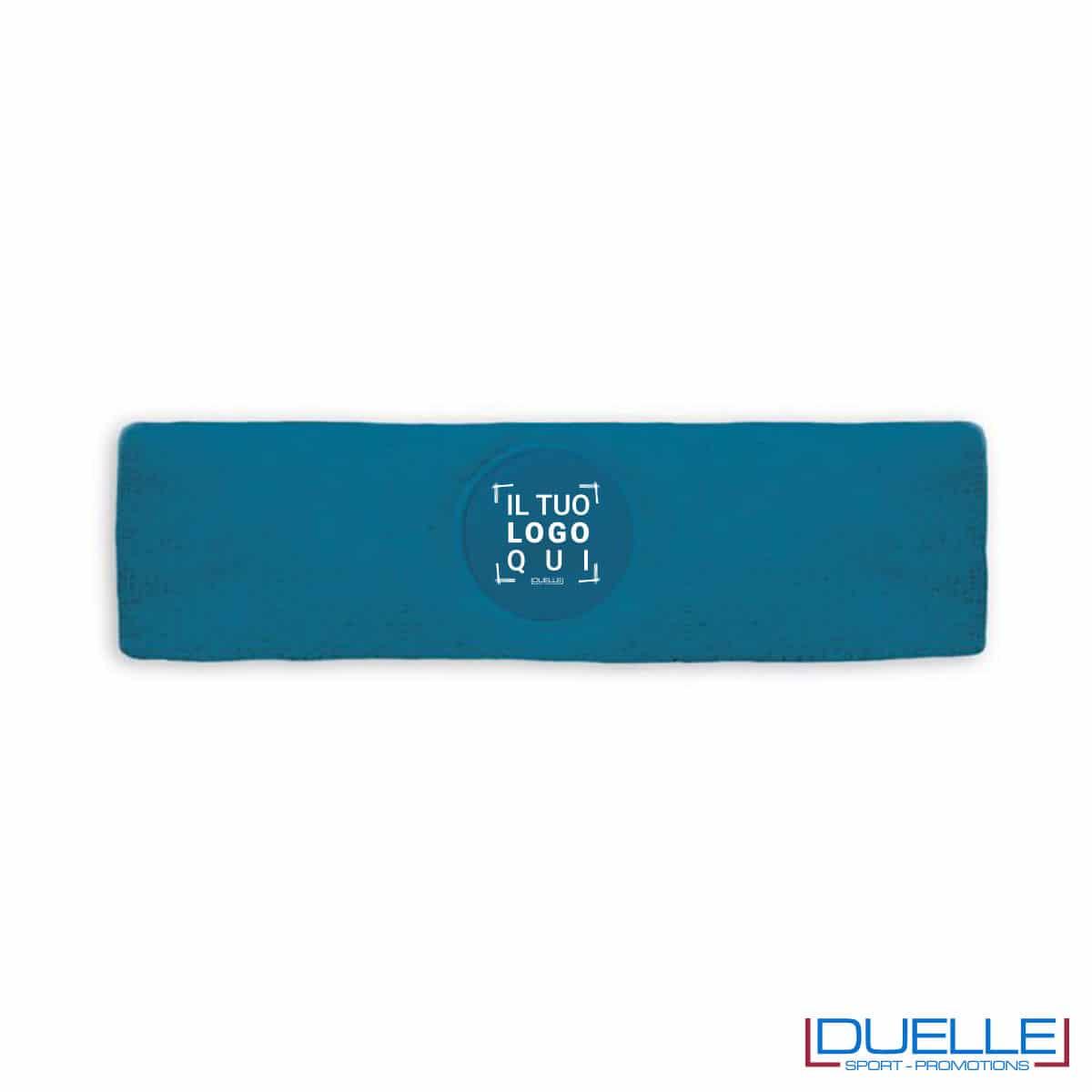 fascia sportiva blu personalizzata