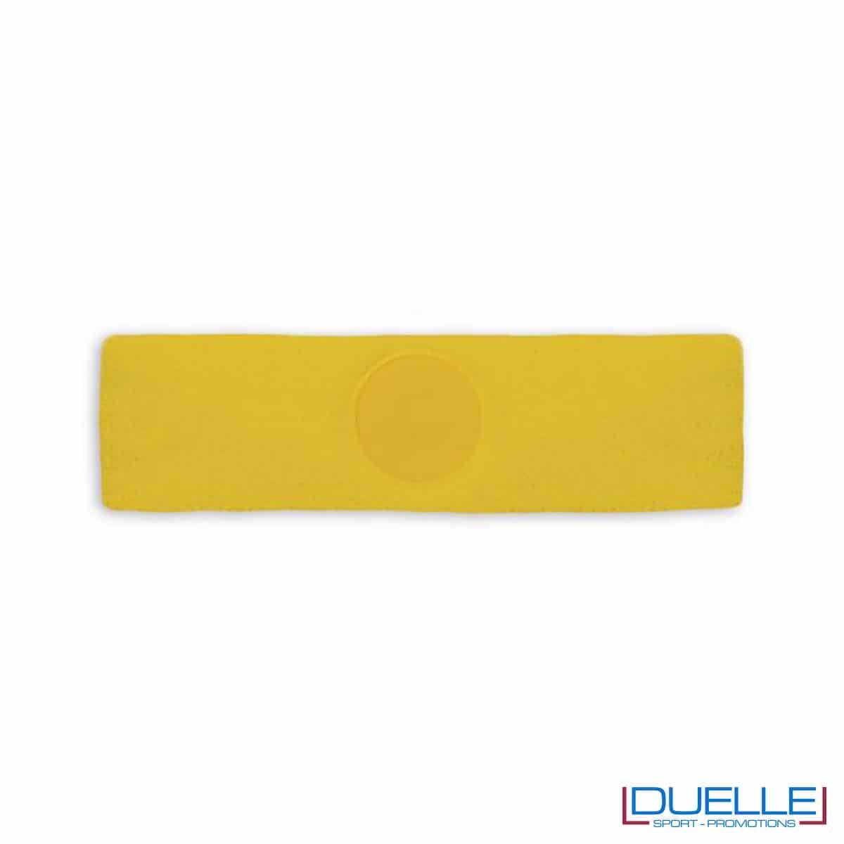 fascia gialla da personalizzare sport