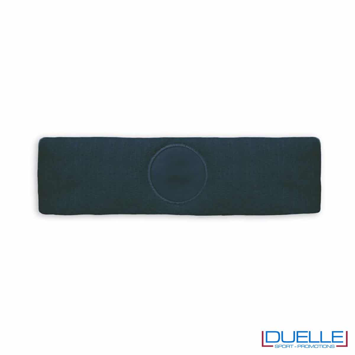 fascia sportiva blu navy