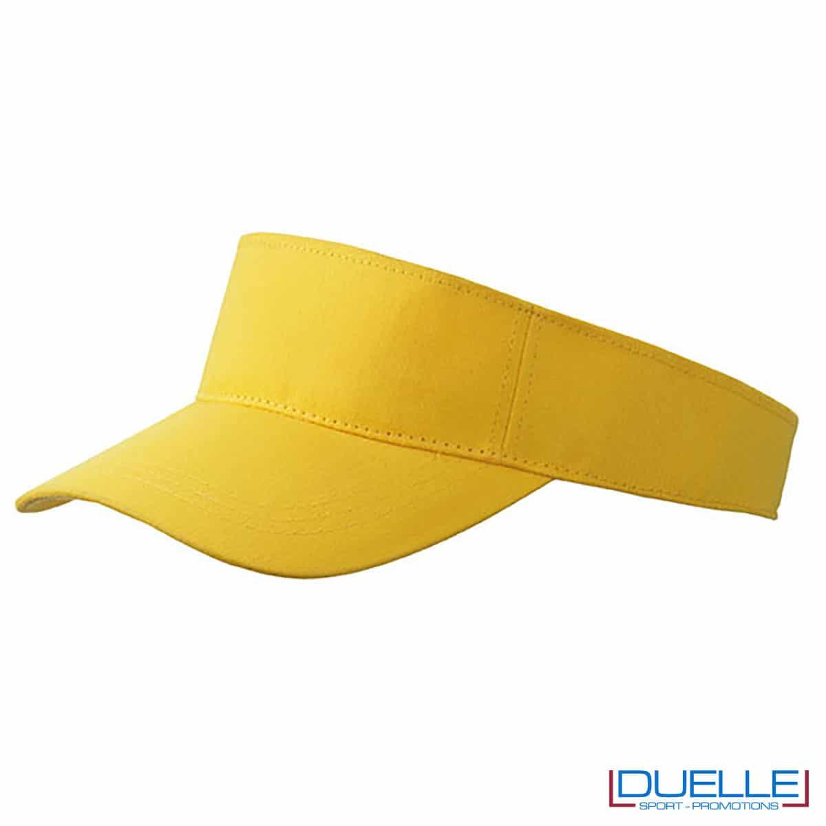 visiera gialla tergisudore sportiva