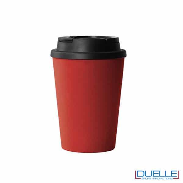 mug rossa doppia parete