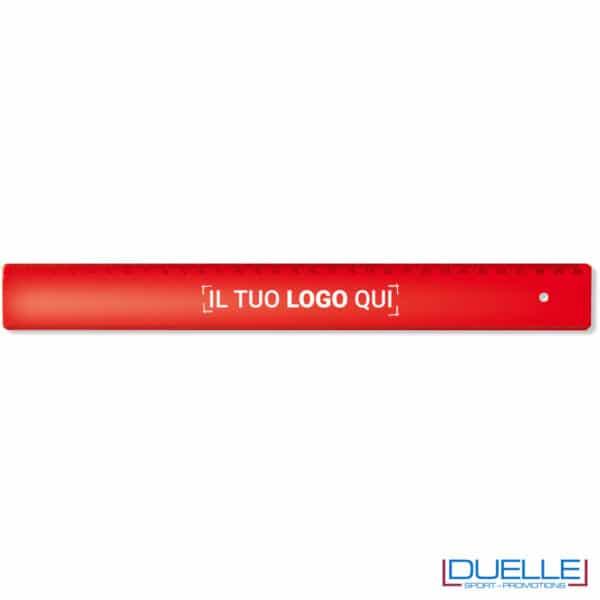 righello rosso 30 cm personalizzato