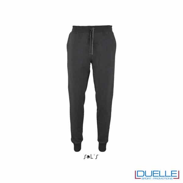 pantalone antracite lungo per jogging