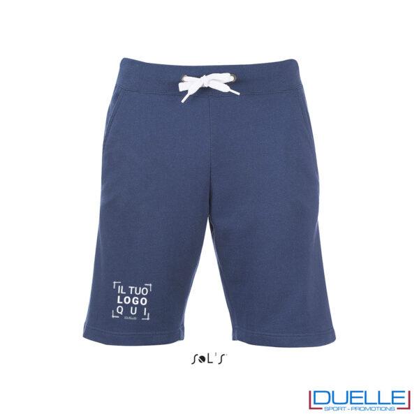 Pantaloncini french terry uomo personalizzati