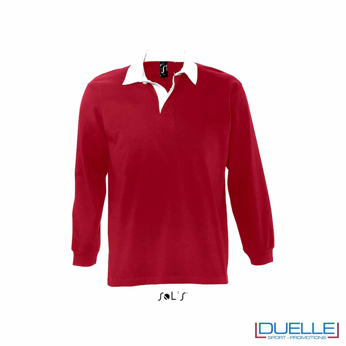 Polo in cotone 280 gr rosso