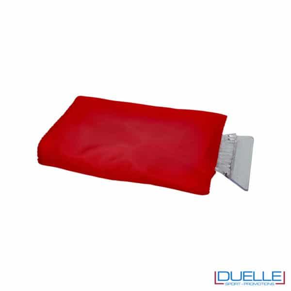 guanto rosso raschia ghiaccio