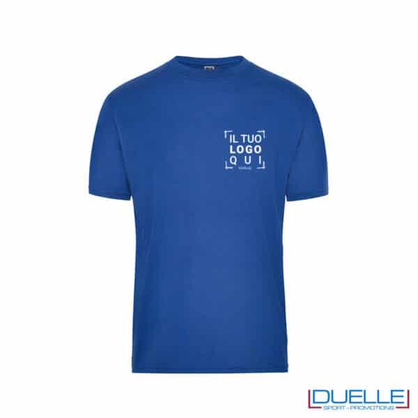 Maglietta professionale lavaggio 60°C personalizzata