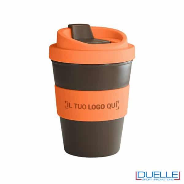 tazza con protezione arancione personalizzata