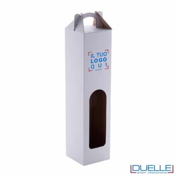 scatola con maniglia per bottiglia