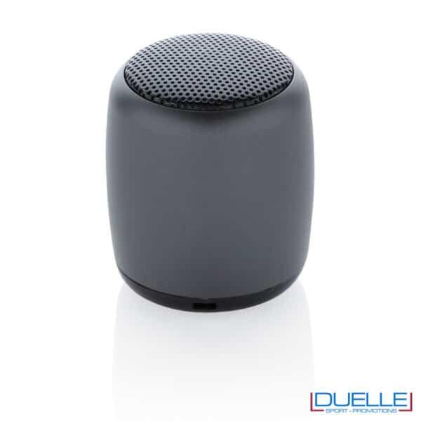 mini speaker nero personalizzato