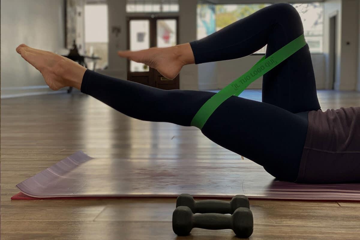 Immagine fascia elastica per fitness